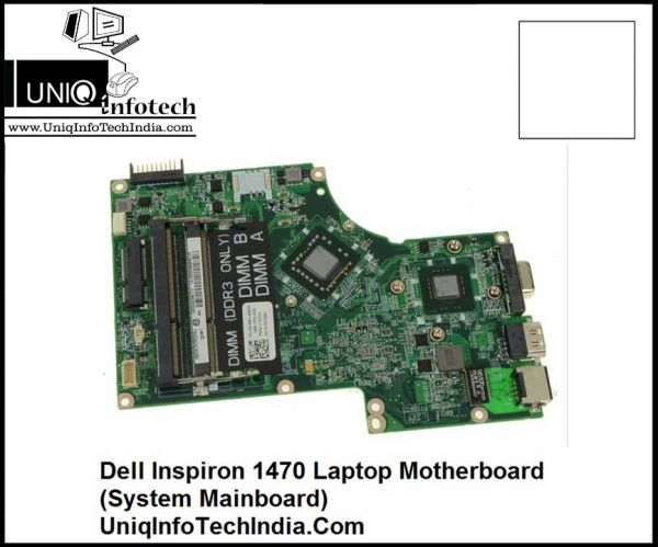 Dell Inspiron 1470 Laptop Motherboard (System Mainboard)