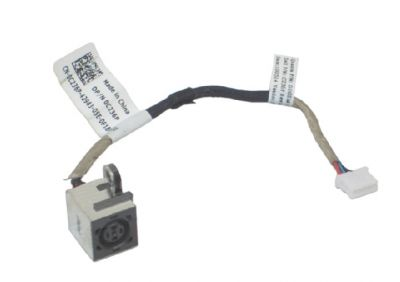 Dell Latitude 2100 2110 2120 DC Power Input Jack with Cable - C236P