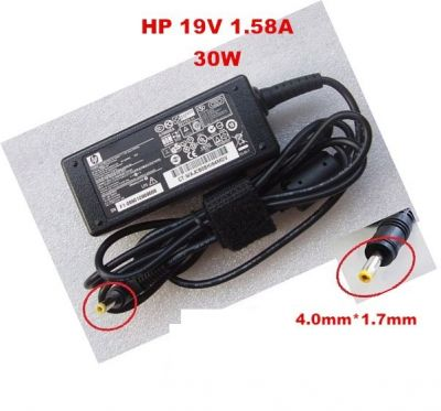 HP 30W 19V 1.58A Laptop Adapter- (4*1.7)