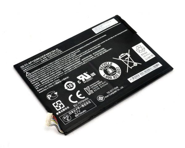 ACER ICONIA TAB A3-A10 W510 W510P AP12D8K TABLET BATTERY