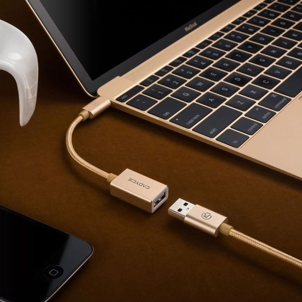 CADYCE USB-C™ to USB 3.0 A Type Female Cable