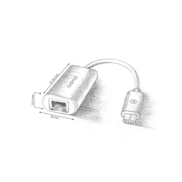 CADYCE USB CTM to 3.1 to Gigabit Ethernet Adapter