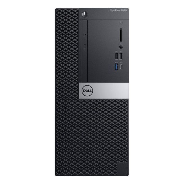 Dell Optiplex 7070 MT Desktop (Intel Core i7-8565U/8GB/1TB/Win10/No ODD/23.8