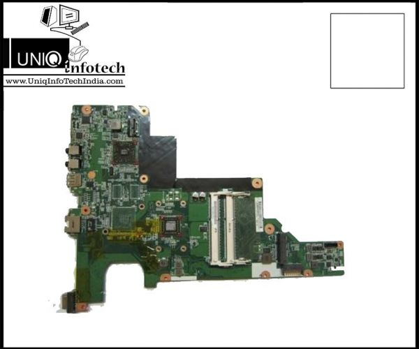 Original and 100% tested replacement motherboard 647322-001 fits for HP CQ43 laptop, 60 days moneyback guarantee for motherboard 647322-001 .