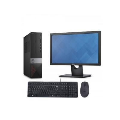 "Dell Vostro Desktop 3470 SFF (Core i3 - 9100U / 4GB/ 1TB HDD/ ODD/ DOS / 18.5"" Screen)"