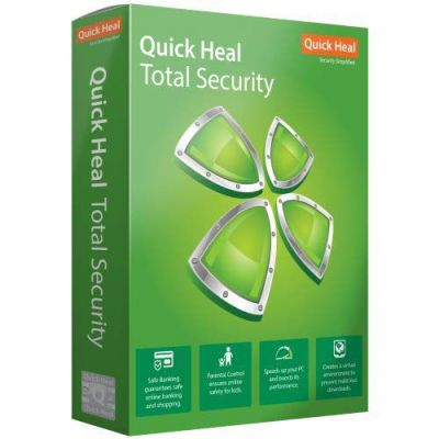Quick Heal Total Security 3 PC 1 Year