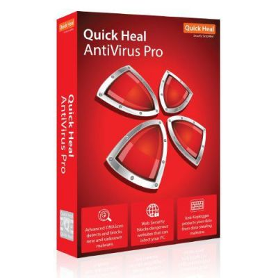 Quick Heal AntiVirus Pro 1 PC 3 Year