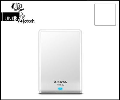 ADATA AHV620 External Hard Drive, Black, White 2TB