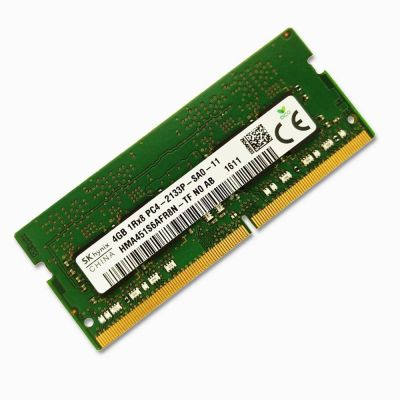 Hynix 4GB PC4-17000 DDR4-2133MHz non-ECC Unbuffered CL15 260-Pin SoDimm HMA451S6AFR8N-TF