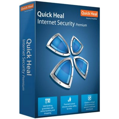 Quick Heal Internet Security 3 PC 1 Year