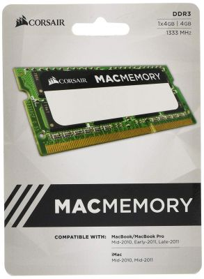 Corsair Apple Mac Series DDR3 4 GB (Dual Channel) Laptop (CMSA4GX...