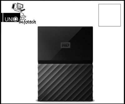 WD My Passport 4 TB Wired External Hard Disk Drive  (Black)