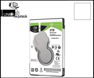 Seagate 2TB Laptop HDD SATA 6GB/s 128MB Cache 2.5-Inch 7mm Thinnest Internal Hard Drive