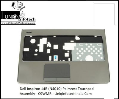 Dell Inspiron 14R (N4010) Palmrest Touchpad Assembly - C9WMR FPHYP