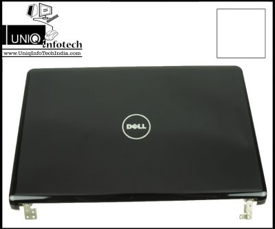 Dell Inspiron 1564 LCD Back Cover with Hinges H0R52 0H0R52