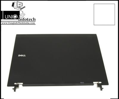 """Dell Latitude E5500 15.4"""" LCD Back Top Cover Lid Plastic Assembly W/Hinges - RC382"""