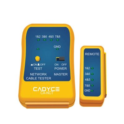 Cadyce CA-NCT Network Cable Tester (Yellow)