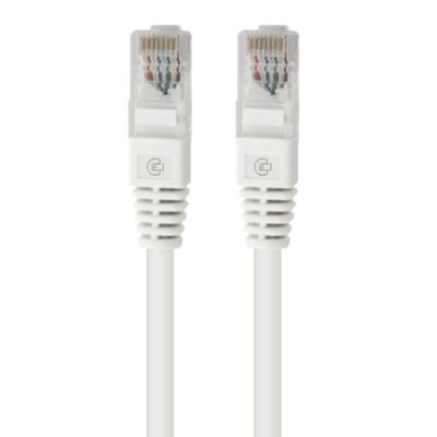 Cadyce CA-PC61M 1 meters CAT 6 Patch Cord (White)