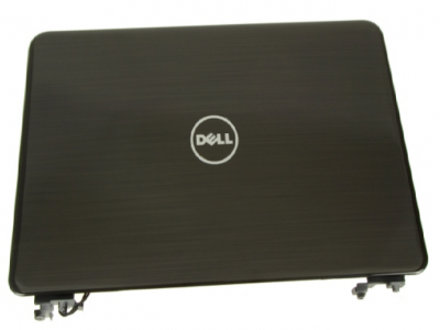 """Dell Inspiron 13z (N311Z) 13.3"""" LCD Back Cover Lid Top with Hinges - XVNNK"""