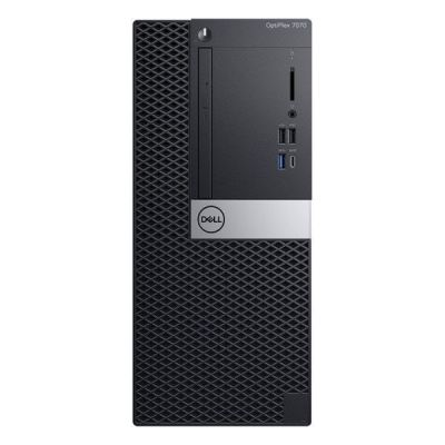"Dell Optiplex 7070 MT Desktop (Intel Core i7-8565U/8GB/1TB/Win10/No ODD/23.8""Screen)"
