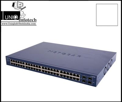 NetGear GS748T Prosafe 48Port 10/100/1000 Mbps Layer 2 Smart Gigabit Switch with 4SFP
