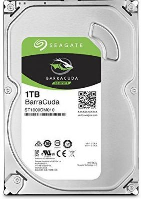Seagate Internal 1 TB Desktop Internal Hard Disk Drive (SATA)