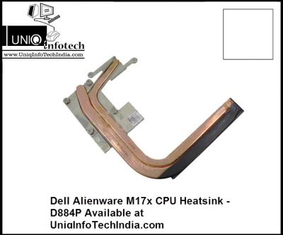 DELL Alienware M17x CPU Heatsink - D884P