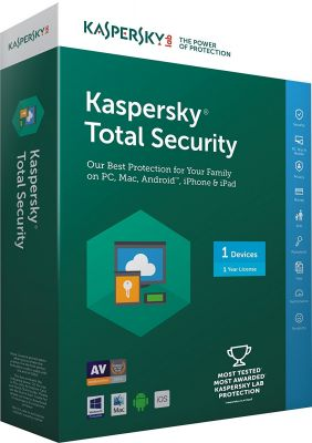 Kaspersky Total Security Multi Device - 10 PC 1 Year (CD)