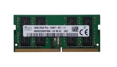 Hynix 16GB DDR4 PC4-19200 2400MHZ ECC REG DIMM Model (HMA82GS6AFR8N-UH)