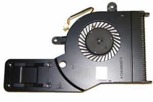 Dell Inspiron 15 (5552) 15 (5551) CPU Heatsink and Fan Assembly - 6YYWM