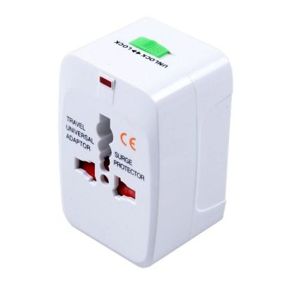 All in One World Travel Adapter Converter Charger Plug