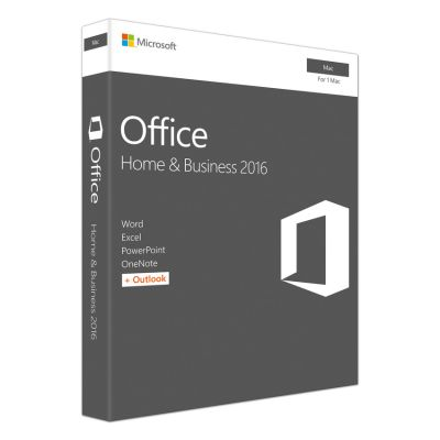 Microsoft Office for Mac Home and Business 2016 W6F-00882