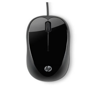 HP X1000 USB Wired Mouse (Black)