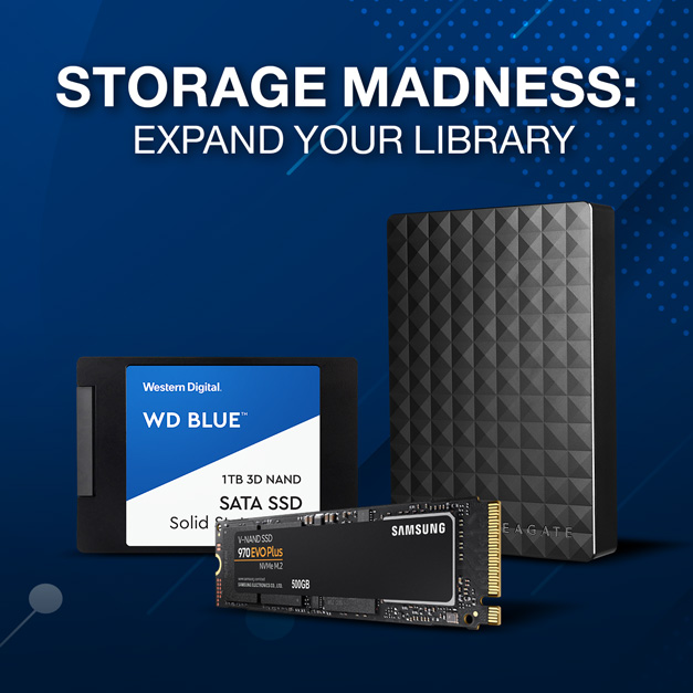 Storage Madness: Expand Your Library