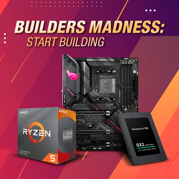 BUILDERS MADNESS: START BUILDING